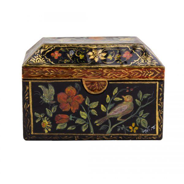 جعبه جواهرات پاپیه ماشه