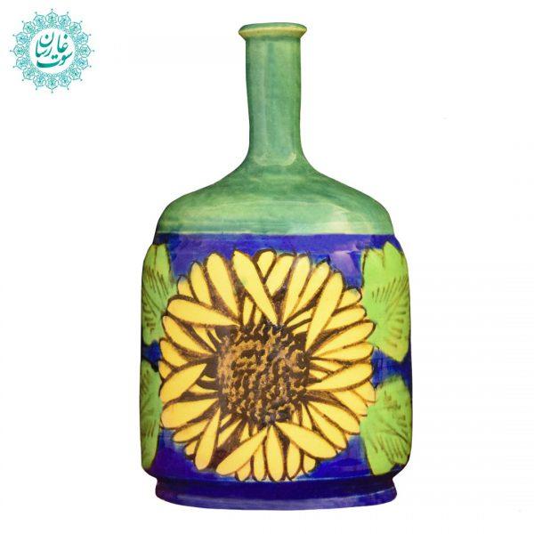 بطری آب گل آفتابگردان