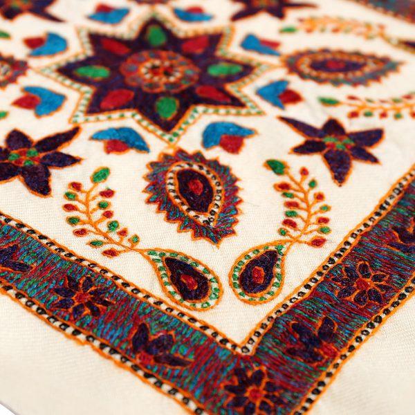 جلد قرآن پته دوزی ستاره