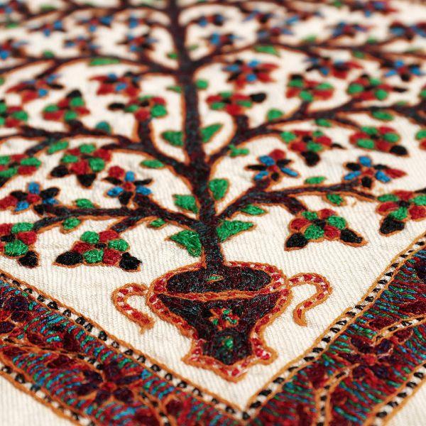 رومیزی پته دوزی درخت زندگی