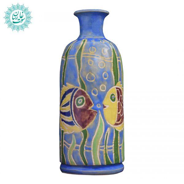 گلدان نقاشی ماهی