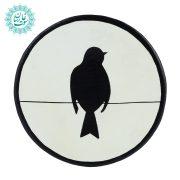 بشقاب نقطه کوبی پرنده