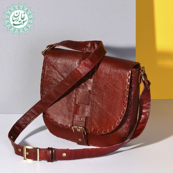 کیف دوشی چرم زنانه ونوس