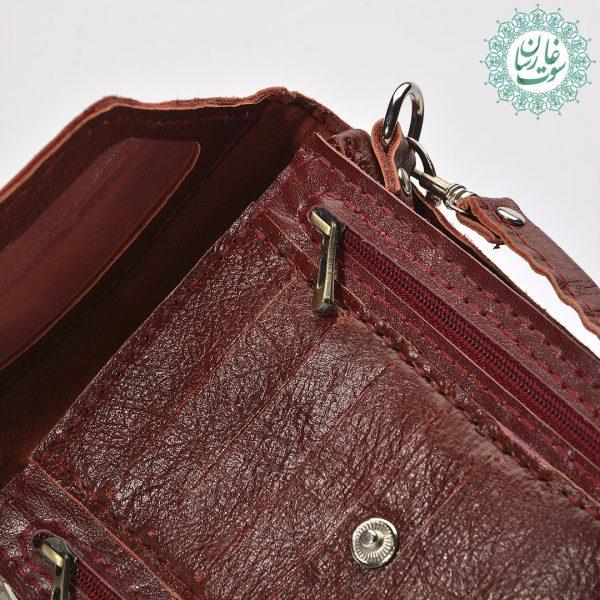 کیف پاسپورتی چرم حافظ