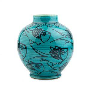 گلدان کروی ماهی
